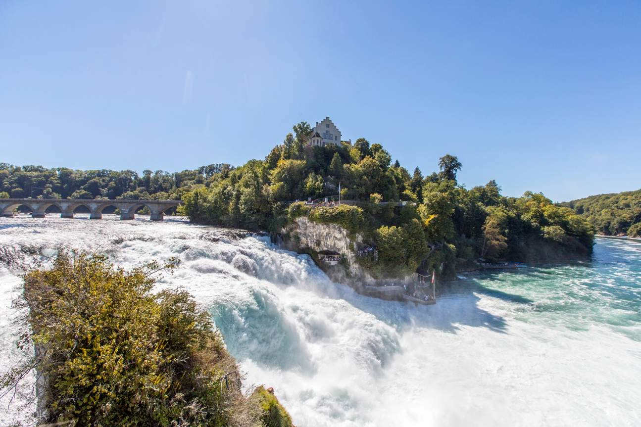 view of the rhine falls